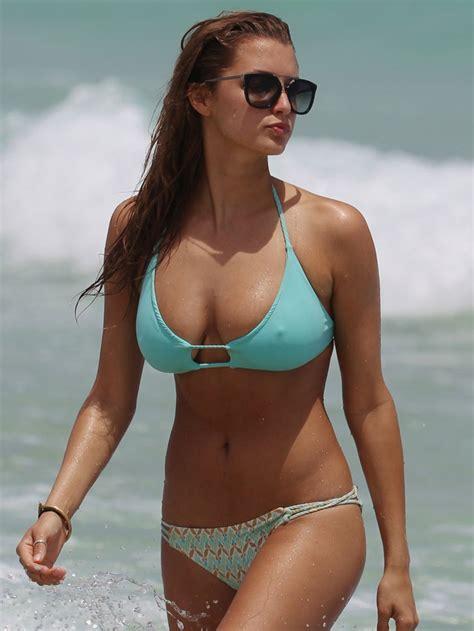 young swimsuit pokies quot alyssa arce quot pokies bikini candids miami beach