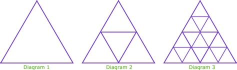 triangle pattern sequence exam style questions on sequences