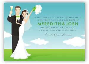 And groom invitation bridal shower invitations polkadotdesign com