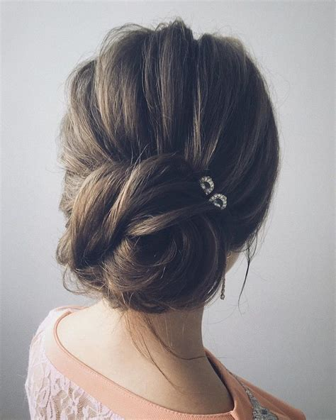 messy updo for long hair that take 5 minutes beautiful unique updo wedding hairstyle ideas messy