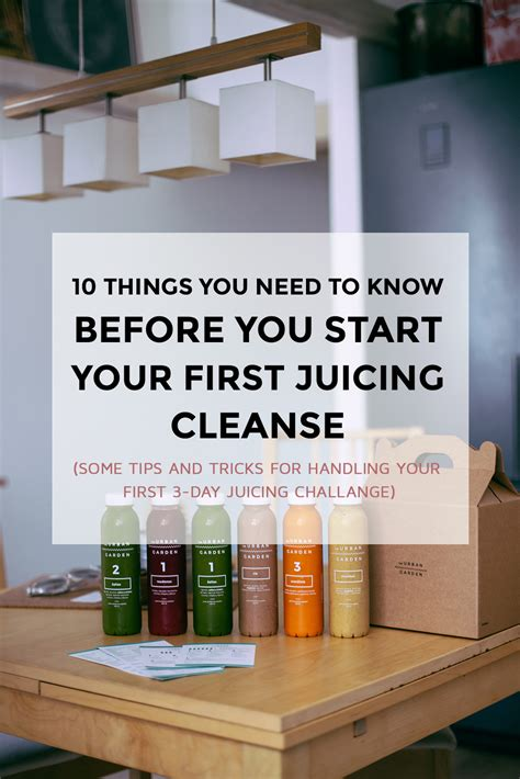 Do I Need To Detox Before Starting Juice Plus by 10 Things You Need To Before You Start Your