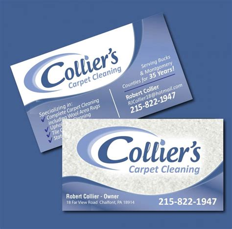 Carpet Cleaning Business Cards Templates by Carpet Cleaning Business Cards Choice Image Business
