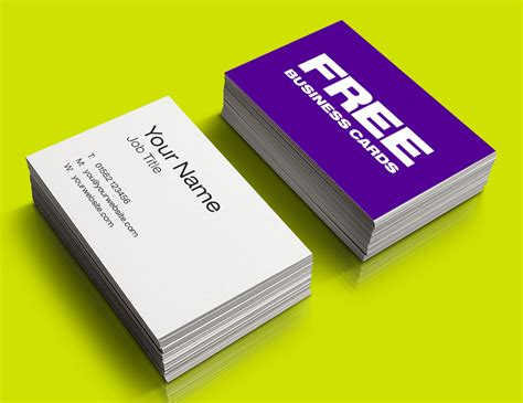 business card free custom card template 187 free busines cards free card