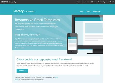 responsive mail templates freebies 30 free responsive email templates for small