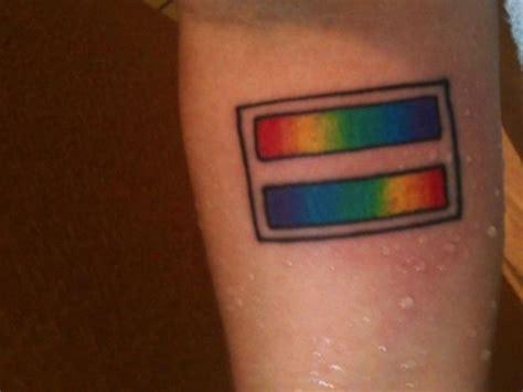 gay symbols tattoos 40 best pride ink images on pride