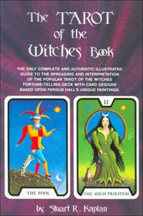 the only tarot book 1598694898 the tarot of the witches book the only complete and