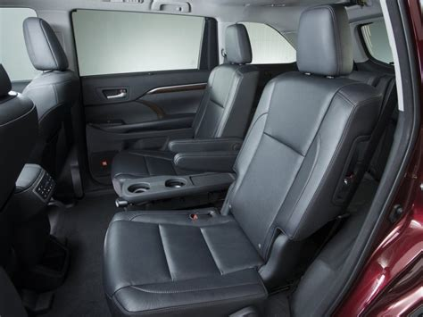Toyota Captains Chairs 10 Suvs With Second Row Captain S Chairs Autobytel
