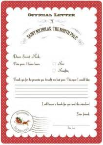 8 best images of santa letter printable thank you