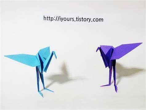 How To Make A Flamingo Out Of Paper - 홍학 종이접기 easy origami flamingo bird
