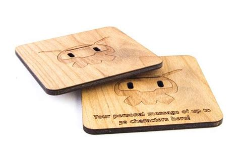 How To Make Handmade Coasters - handmade overwatch wooden drink coasters gadgetsin