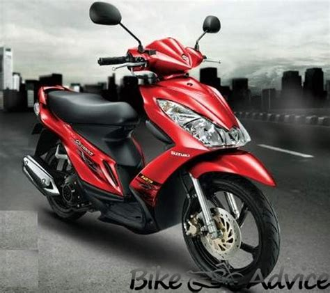 As Selahan Kick Stater Smash Shogun 125 suzuki skydrive 125cc preview bikeadvice in