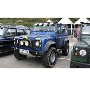 Blue Land Rover Jeep Free Stock Photo  Public Domain Pictures