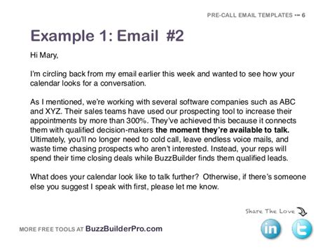 Cold Emailing Templates For Prospecting Keep In Touch Email Template