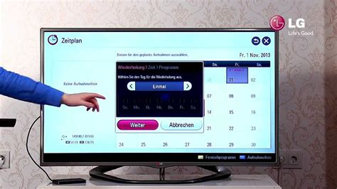 Led Tv Lg Usb lg led smart tv 7 usb recording aufnehmen mit dem tv