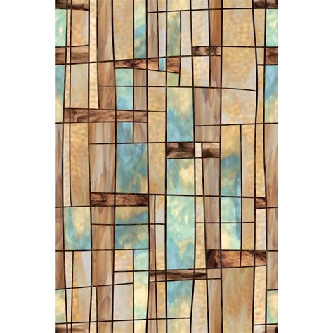 artscape 24 in x 36 in city lights decorative window