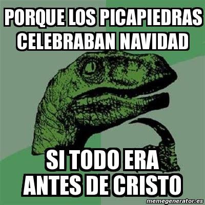 imagenes de memes en navidad meme filosoraptor porque los picapiedras celebraban