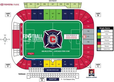 Toyota Seating Concert Seating At Toyota Park