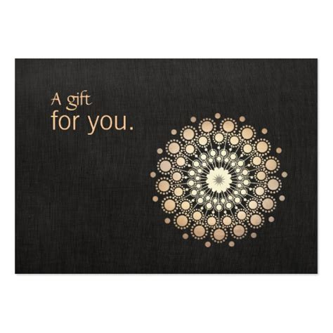 Massage Therapy Gift Cards - 2 000 certificate business cards and certificate business card templates zazzle