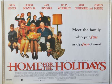 home for the holidays original cinema poster from