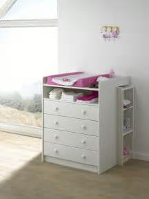 steens for white 4 drawer baby changing unit chest of