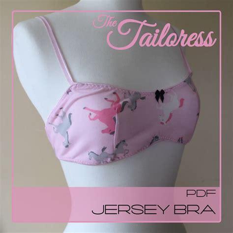 Jersey Underwear Pattern | jersey bra bralette lingerie underwear pdf sewing pattern