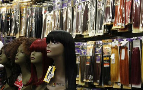 hair extensions in stores thieves concoct hairbrained schemes as the cost of human