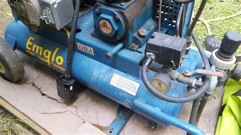 mandela effect sept   emglo air compressor