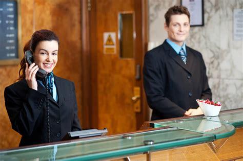 hotel receptionist course iap