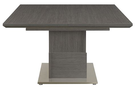 square expanding table setis grey oak square extending dining table style our home