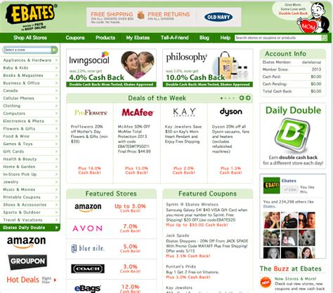 ebates official site shopping with ebates mami talks