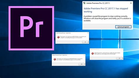 adobe premiere pro not working fix quot adobe premiere pro cc 2017 has stopped working