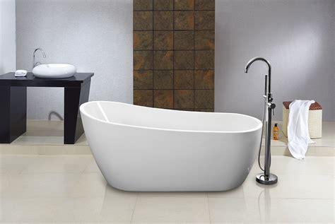 ebay freestanding bathtubs verona modern acrylic free standing bathtub 1520x720mm ebay