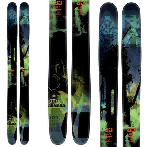 sci armada ski armada jj 2 0 bindings v614 freeride skis on