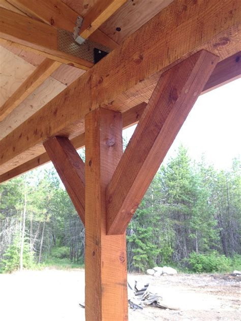 Sandpoint Contractor Builds Post And Beam Carport Scott