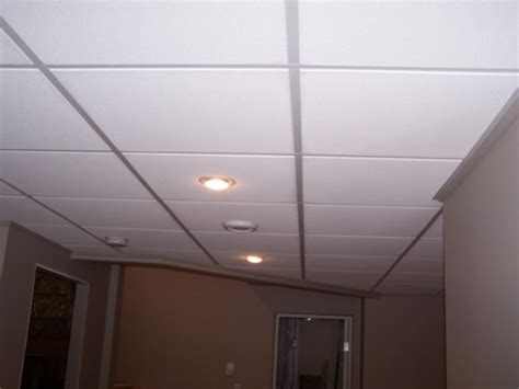 Ceiling Suspended Install Fluorescent Lighting Drop Ceiling