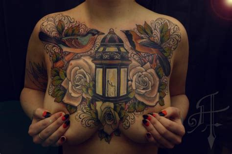 paper lantern tattoo meaning l breast candle tattoo by antony tattoo