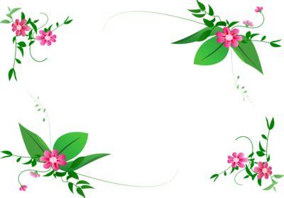 design bolder bunga free frames and borders png flower border design png 360