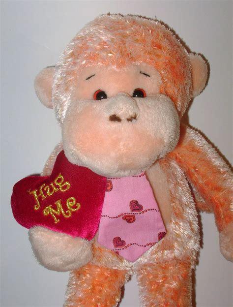 valentines day stuffed animals walmart walmart hug me monkey plush stuffed animal tie