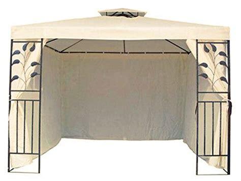 Pavillon 250x250 by Beige Pavillons Pergolen Gartenlauben Und Weitere