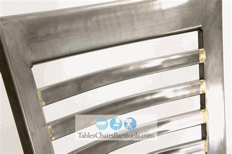 Bar Clear Coat Gladiator Clear Coat Ladder Back Metal Bar Stool W