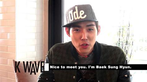 Baek Hyun 04 kbs kwave 2014 04 baek sung hyun 백성현