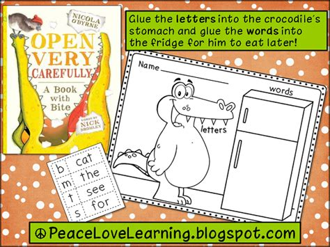 open carefully a book with bite books peace and learning new reads book nuts freebies