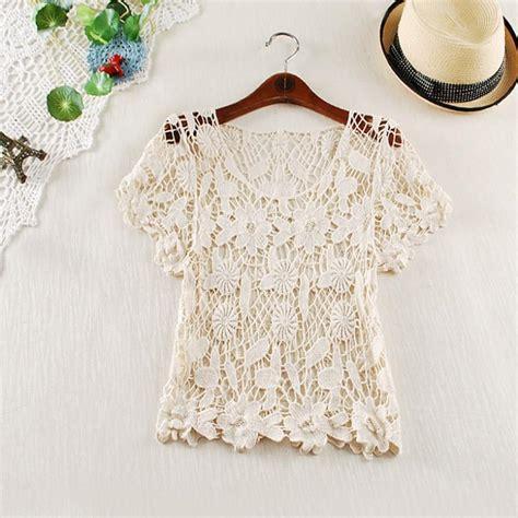 knitting pattern vest top nwt hot new womens handmade hook flower lace crochet vest