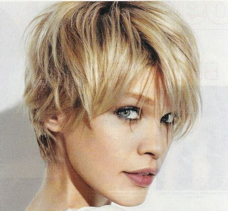 womens short hair long in front short in back messy short hairstyles for women
