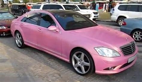 light pink mercedes overkill pink mercedes s500 gtspirit