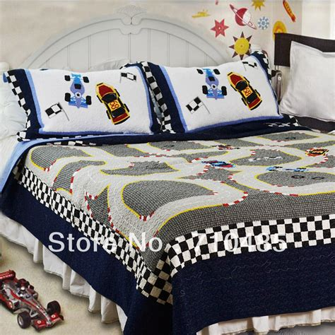 race car bedroom sets free shipping mv race car kids bedding set formula 1