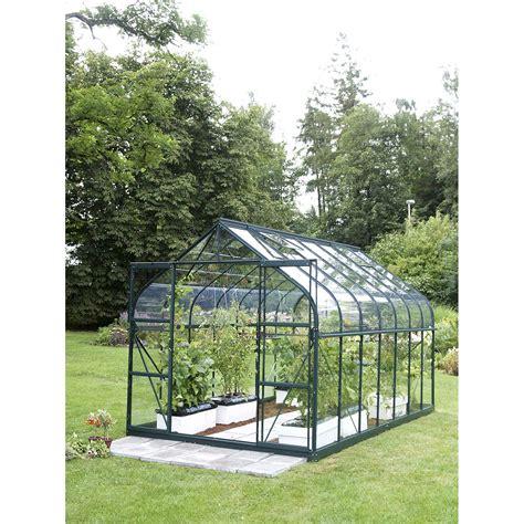 serre souple de jardin serre egt diana 9900 verre horticole 9 843 m 178 leroy merlin
