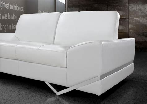 Modern White Leather Couches by White Modern Sofa Set Vg 74 Leather Sofas