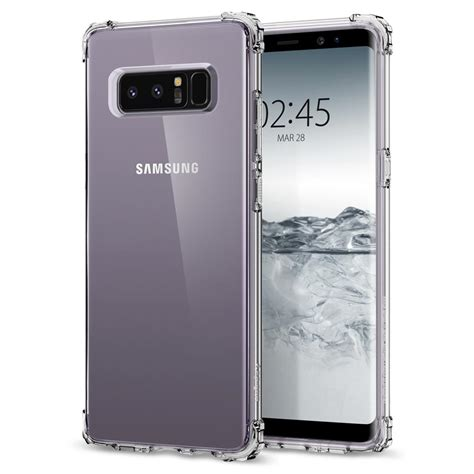 Spigen Shell Original Samsung Galaxy S8 Clear Transpara spigen shell series galaxy note 8 primegad