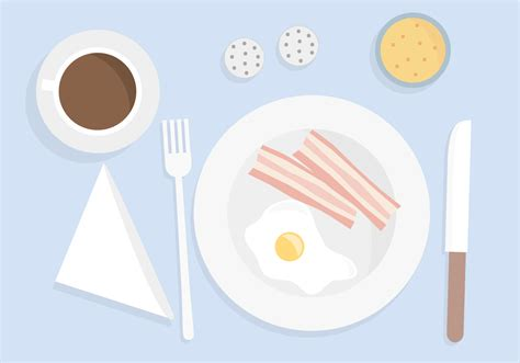 Free Breakfast Vector   Download Free Vector Art, Stock Graphics & Images